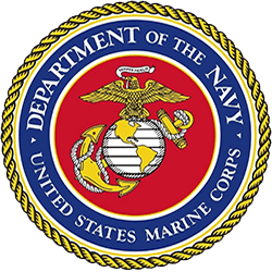 Veteran Moving Group - Navy badge