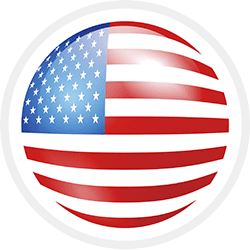 Veteran Moving Group - American Flag badge